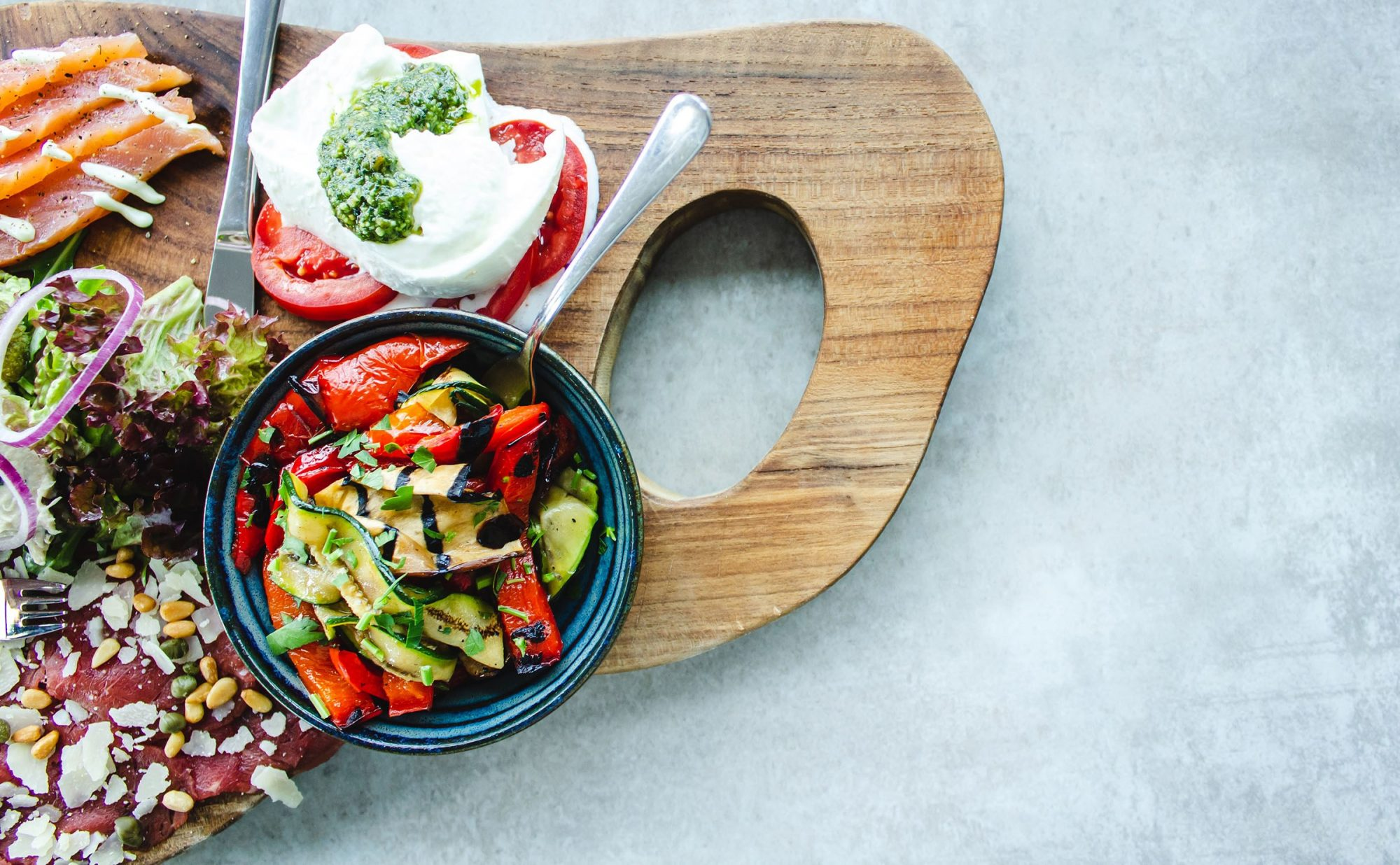 Spread of healthy food