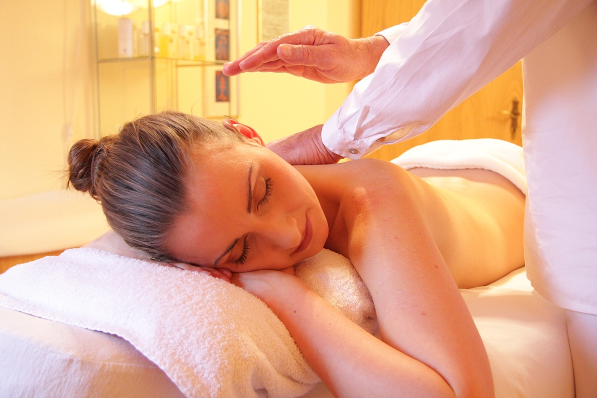 Woman Relaxing Relax Spa 56884